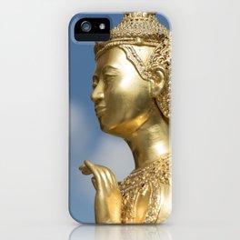 Kinnorn (Kinnara) Statue, Bangkok iPhone Case