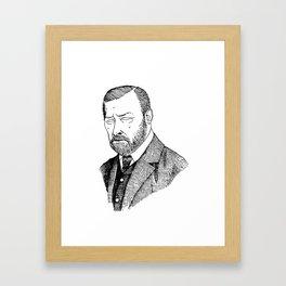 Bram Stoker Framed Art Print