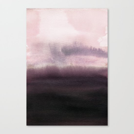 Twilight Landscape Canvas Print