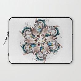 Spirited Away Mandala Laptop Sleeve