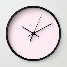 pretty cloud stripe Wall Clock