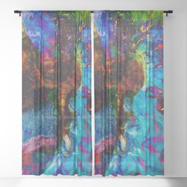 Chaos Sheer Curtain