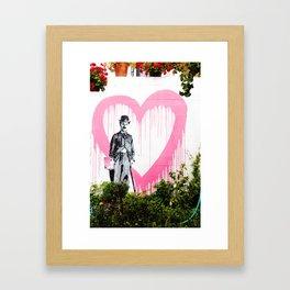 Cypress Inn, Carmel Framed Art Print