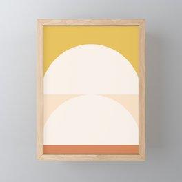 Abstract Geometric 01 Framed Mini Art Print