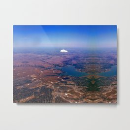 Flying Solo Metal Print