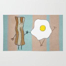 Bacon & Egg Togetherness Rug
