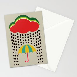 Refreshing watermelon Stationery Cards