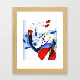 Thanks for Choosing Mid Air. Framed Art Print