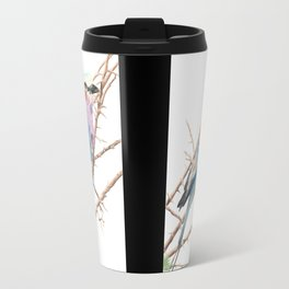 Lilac breasted roller Travel Mug