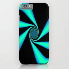 Abstract. Turquoise+Black. iPhone 6s Slim Case