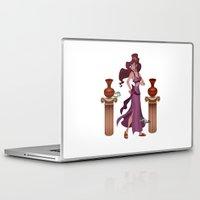 hercules Laptop & iPad Skins featuring Meg / Megara - Hercules by Teo Hoble