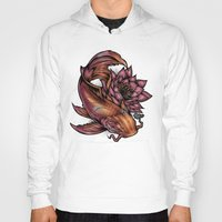 koi fish Hoodies featuring Koi Fish by Absorb81