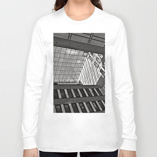 Modern Hamburg office building Long Sleeve T-shirt