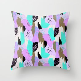 Party in my tummy Throw Pillow