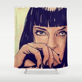 Mia Wallace Shower Curtain