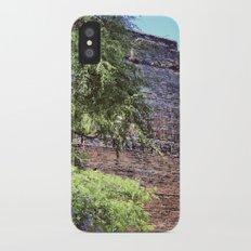 brick wall iPhone X Slim Case