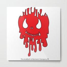 Bleeding Edge Metal Print