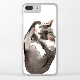 Cat, Sleeping Beauty, Cat design, Cat lover Clear iPhone Case
