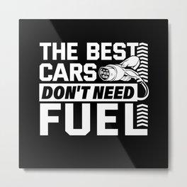E-car Metal Print