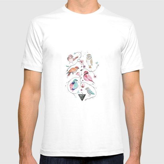BIRDS OF THE WILD T-shirt
