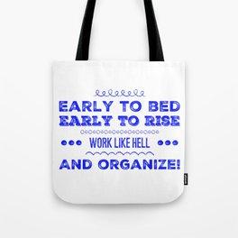 Work & Organize Tote Bag