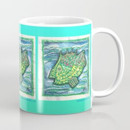 Counter Fish Coffee Mug