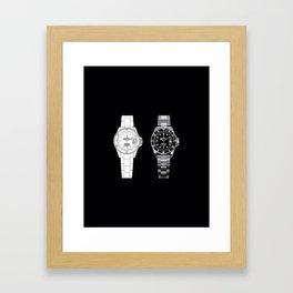 Cosmograph Daytona Face Framed Art Print