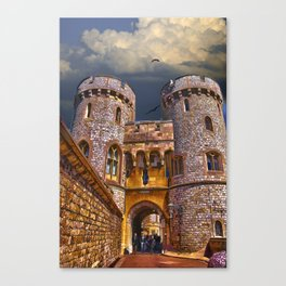 Norman Gate, Windsor Castle , England Canvas Print
