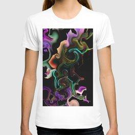 acrylic marble T-shirt