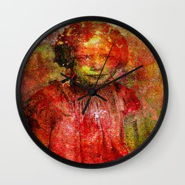I hate the other children Wall Clock