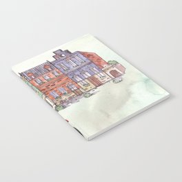 Red Vespa Notebook