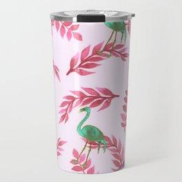 Flamingo rose Travel Mug