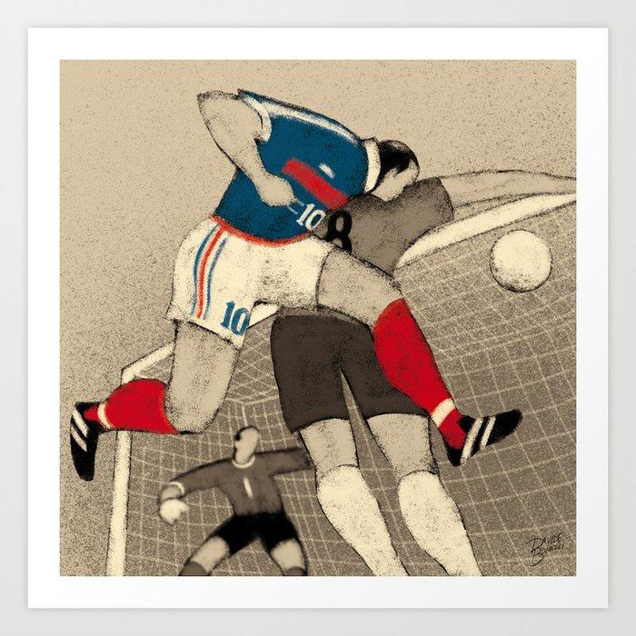 History of Football - 1998 Art Print