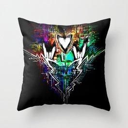 Chiptunes = Win: Upgrade Throw Pillow