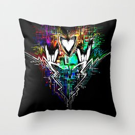 Chiptunes = Win: Upgrade Throw Pillow