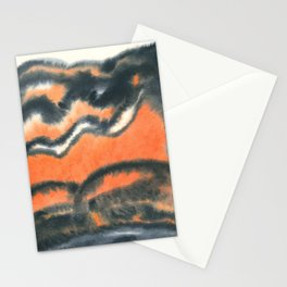 ashes and sand Stationery Cards