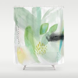 Summer Air Abstract Shower Curtain