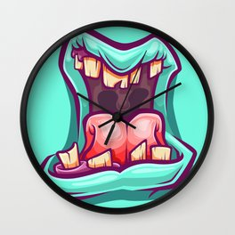 Songs with distortion Wall Clock