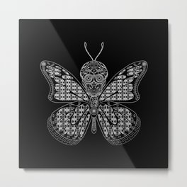black mothman prophecy ecopop Metal Print