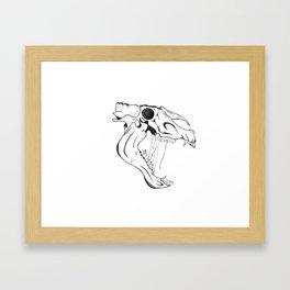 Donkey Jawbone - Judges 15:15 Framed Art Print