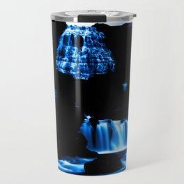 Magical Blue Waterfalls Travel Mug