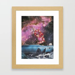 Taking a Trip Framed Art Print