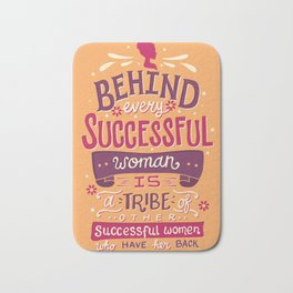 Successful women Bath Mat