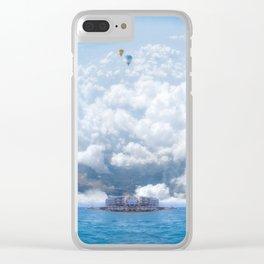 Sky Pier Clear iPhone Case
