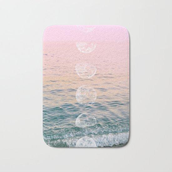 Moontime on the Beach Bath Mat