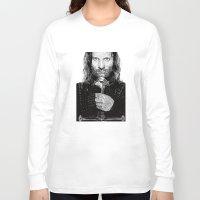 aragorn Long Sleeve T-shirts featuring Aragorn by Rik Reimert