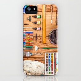 The Artist's Tools iPhone Case