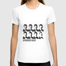 Samuel Beckett-En attendant Godot-Waiting for Godot T-shirt