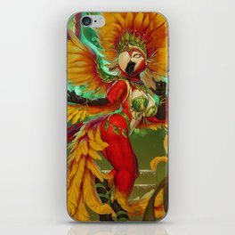 The Carnival Queen iPhone Skin