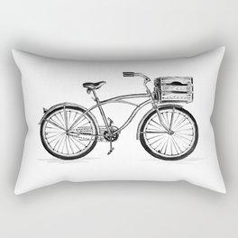 Beach Bicycle Rectangular Pillow